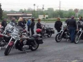 Group ready to go - Breakfast Ride - May 4, 2003
